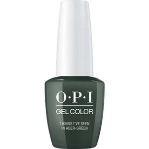 OPI GelColor Soak Off Gel Polish - Scotland Collection - #GCU15 - Things I've Seen in Aber-Green 0.5 oz. (GCU15)