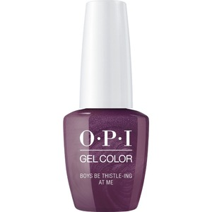 OPI GelColor Soak Off Gel Polish - Scotland Collection - #GCU17 - Boys Be Thistle-ing At Me 0.5 oz. (GCU17)