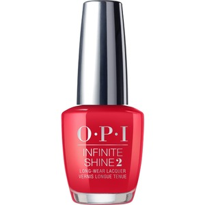 OPI Infinite Shine - Air Dry 10 Day Nail Polish - Scotland Collection - Red Heads Ahead - #ISLU13 0.5 oz. (90036-U13)