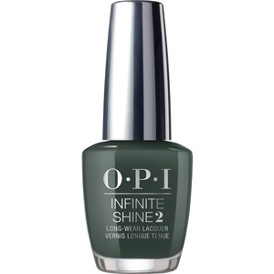 OPI Infinite Shine - Air Dry 10 Day Nail Polish - Scotland Collection - Things I've Seen in Aber-Green - #ISLU15 0.5 oz. (90036-U15)