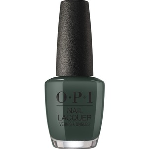 OPI Lacquer - Scotland Collection - #NLU15 - Things I've Seen in Aber-Green 0.5 oz. (90035-U15)