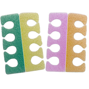 Toe Separators - Multi Color PE Foam 100 Pairs (21342)