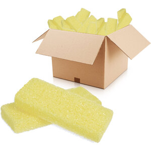Mini Disposable Pumice Pad - Yellow Case of 400 (14972-Yellow)