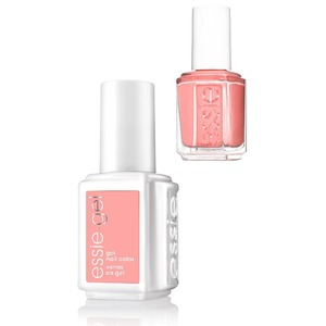 Essie Gel & Essie Lacquer Duo - #186G #186 Around the Blend - Rocky Rose Collection (#186G #186)