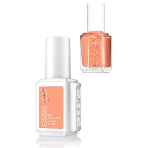 Essie Gel & Essie Lacquer Duo - #599G #599 Set in Sandstone - Rocky Rose Collection (#599G #599)