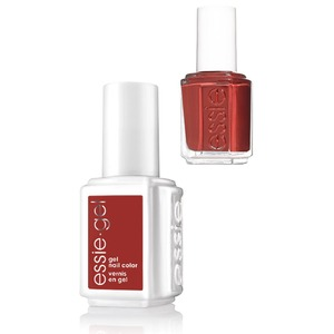 Essie Gel & Essie Lacquer Duo - #605G #605 Bed Rock & Roll - Rocky Rose Collection (#605G #605)