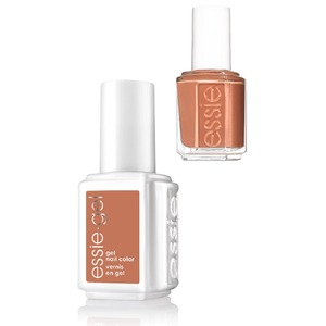Essie Gel & Essie Lacquer Duo - #645G #645 Cliff Hanger - Rocky Rose Collection (#645G #645)