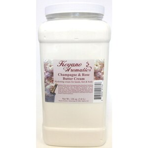 Keyano Aromatics Manicure & Pedicure - Champagne & Rose Butter Cream 1 Gallon (99154)