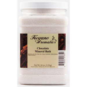 Keyano Aromatics Manicure & Pedicure - Chocolate Mineral Bath 64 oz. (99177)