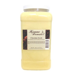 Keyano Aromatics Manicure & Pedicure - Chocolate Scrub 1 Gallon (99167)