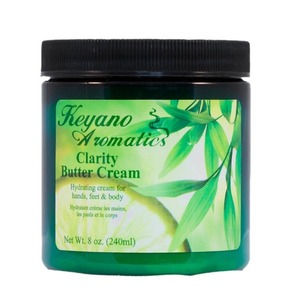 Keyano Aromatics Manicure & Pedicure - Clarity Butter Cream 8 oz. (17602)