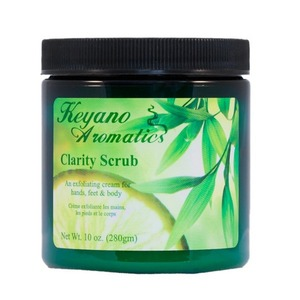 Keyano Aromatics Manicure & Pedicure - Clarity Scrub 10 oz. (17605)