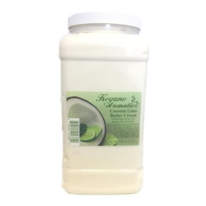 Keyano Aromatics Manicure & Pedicure - Coconut Lime Butter Cream 1 Gallon (12238)