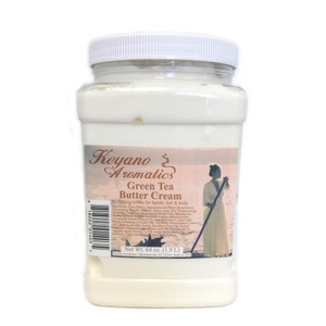 Keyano Aromatics Manicure & Pedicure - Green Tea Butter Cream 64 oz. (99153)