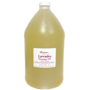 Keyano Aromatics Manicure & Pedicure - Lavender Massage Oil 1 Gallon (17536)