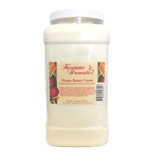 Keyano Aromatics Manicure & Pedicure - Mango Butter Cream 1 Gallon (12237)