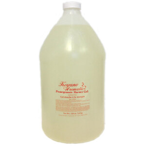Keyano Aromatics Manicure & Pedicure - Pomegranate Bath & Shower Gel 1 Gallon (12344)