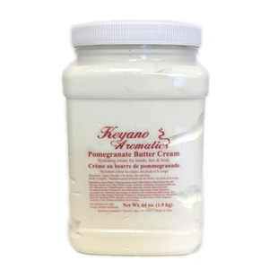 Keyano Aromatics Manicure & Pedicure - Pomegranate Butter Cream 64 oz. (12236)
