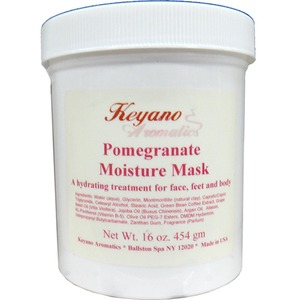 Keyano Aromatics Manicure & Pedicure - Pomegranate Moisture Mask 16 oz. (12413)
