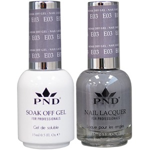 PND Matching Gel Polish 0.5 oz. + Lacquer 0.5 oz. Color #E03 ()