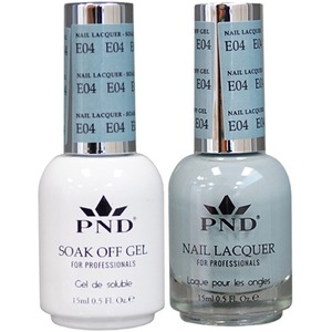 PND Matching Gel Polish 0.5 oz. + Lacquer 0.5 oz. Color #E04 ()