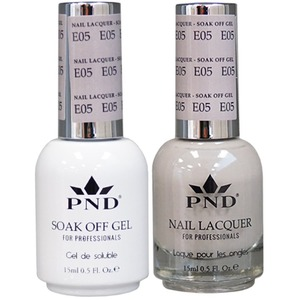 PND Matching Gel Polish 0.5 oz. + Lacquer 0.5 oz. Color #E05 ()