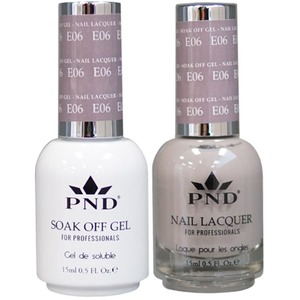 PND Matching Gel Polish 0.5 oz. + Lacquer 0.5 oz. Color #E06 ()