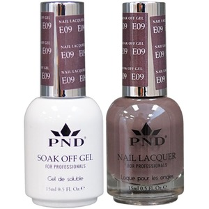 PND Matching Gel Polish 0.5 oz. + Lacquer 0.5 oz. Color #E09 ()