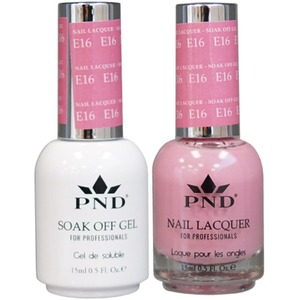 PND Matching Gel Polish 0.5 oz. + Lacquer 0.5 oz. Color #E16 ()