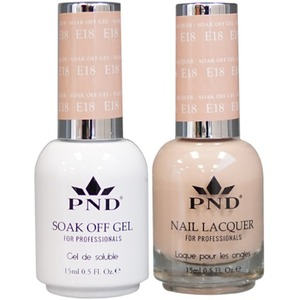 PND Matching Gel Polish 0.5 oz. + Lacquer 0.5 oz. Color #E18 ()