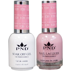 PND Matching Gel Polish 0.5 oz. + Lacquer 0.5 oz. Color #E20 ()
