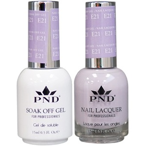 PND Matching Gel Polish 0.5 oz. + Lacquer 0.5 oz. Color #E21 ()