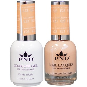 PND Matching Gel Polish 0.5 oz. + Lacquer 0.5 oz. Color #E23 ()