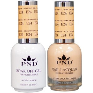 PND Matching Gel Polish 0.5 oz. + Lacquer 0.5 oz. Color #E24 ()