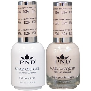 PND Matching Gel Polish 0.5 oz. + Lacquer 0.5 oz. Color #E26 ()