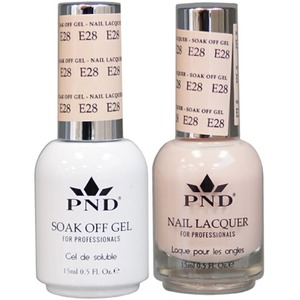 PND Matching Gel Polish 0.5 oz. + Lacquer 0.5 oz. Color #E28 ()