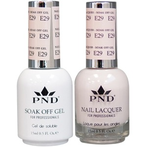 PND Matching Gel Polish 0.5 oz. + Lacquer 0.5 oz. Color #E29 ()