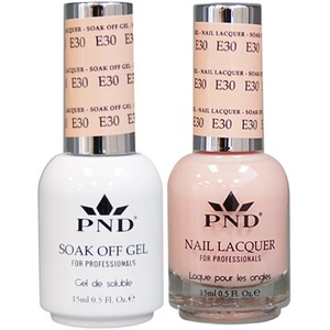 PND Matching Gel Polish 0.5 oz. + Lacquer 0.5 oz. Color #E30 ()
