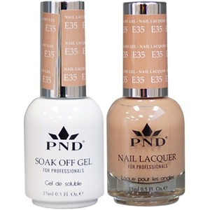 PND Matching Gel Polish 0.5 oz. + Lacquer 0.5 oz. Color #E35 ()