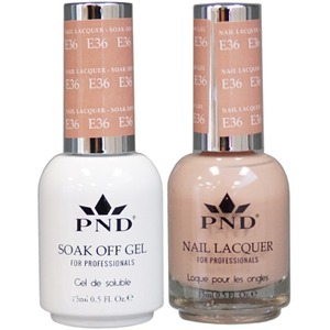 PND Matching Gel Polish 0.5 oz. + Lacquer 0.5 oz. Color #E36 ()