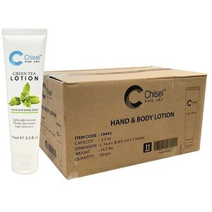 Chisel Hand & Body Lotion - Green Tea Case of 60 Units - 3.3 oz. - 100 mL. Each ()