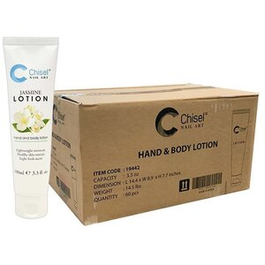 Chisel Hand & Body Lotion - Jasmine Case of 60 Units - 3.3 oz. - 100 mL. Each ()