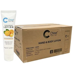 Chisel Hand & Body Lotion - Tangerine Case of 60 Units - 3.3 oz. - 100 mL. Each ()