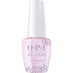 OPI GelColor Soak Off Gel Polish - Hello Kitty Collection - #HPL02 - A Hush of Blush 0.5 oz. (#HPL02)