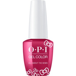 OPI GelColor Soak Off Gel Polish - Hello Kitty Collection - #HPL04 - All About The Bows 0.5 oz. (#HPL04)