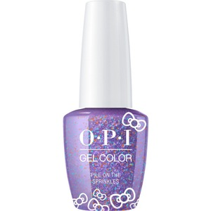OPI GelColor Soak Off Gel Polish - Hello Kitty Collection - #HPL06 - Pile On The Sprinkles 0.5 oz. (#HPL06)