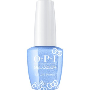 OPI GelColor Soak Off Gel Polish - Hello Kitty Collection - #HPL08 - Let Love Sparkle 0.5 oz. (#HPL08)