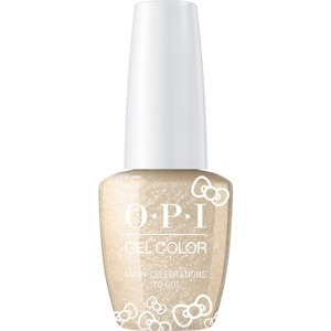 OPI GelColor Soak Off Gel Polish - Hello Kitty Collection - #HPL10 - Many Celebrations To Go! 0.5 oz. (#HPL10)
