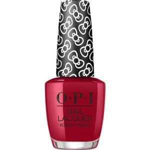 OPI Lacquer - Hello Kitty Collection - #HRL05 - A Kiss On The Chic 0.5 oz. (90035-HRL05)