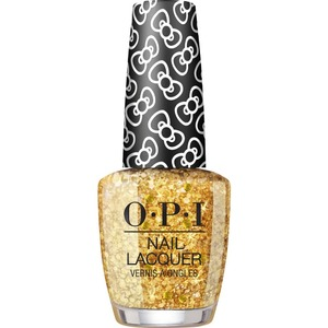 OPI Lacquer - Hello Kitty Collection - #HRL12 - Glitter All The Way 0.5 oz. (90035-HRL12)